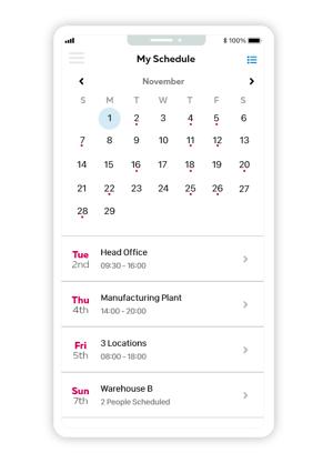 Schedule -1